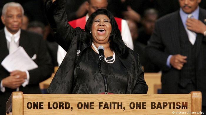 Sängerin Aretha Franklin (picture alliance/dpa)