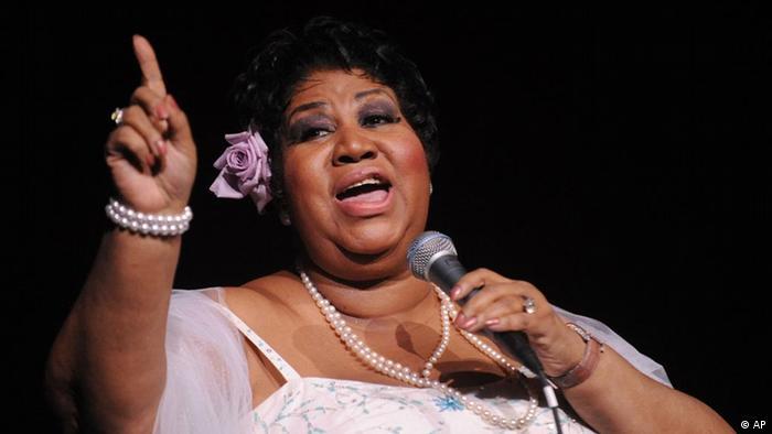 Sängerin Aretha Franklin