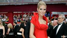 Model Heidi Klum arrives for the 80th Academy Awards Sunday, Feb. 24, 2008, in Los Angeles. (ddp images/AP Photo/Amy Sancetta).