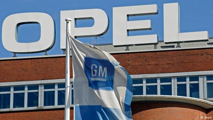 Symbolbild Opel GM Logo