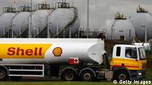 Symbolbild Shell Öl Tanker