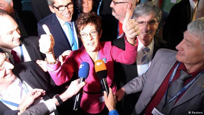 Landtagswahl im Saarland 2012