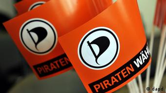 The Pirate Party banner