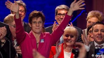 Landtagswahl im Saarland 2012 Annegret Kramp-Karrenbauer