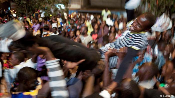 Wahlen Senegal Jubel