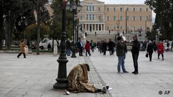 Syntagma Platz in Athen