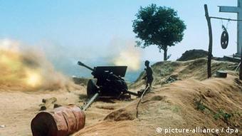 A guerra civil angolana foi uma das mais longas e sangrentas em África