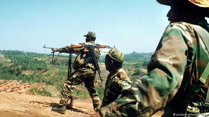 Bürgerkrieg Angola 1993