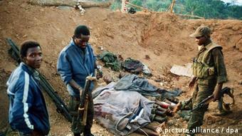 A guerra civil angolana foi uma das mais longas e sangrentas guerras no continente africano