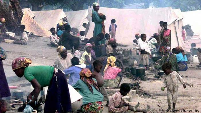 Flüchtlinge in Angola