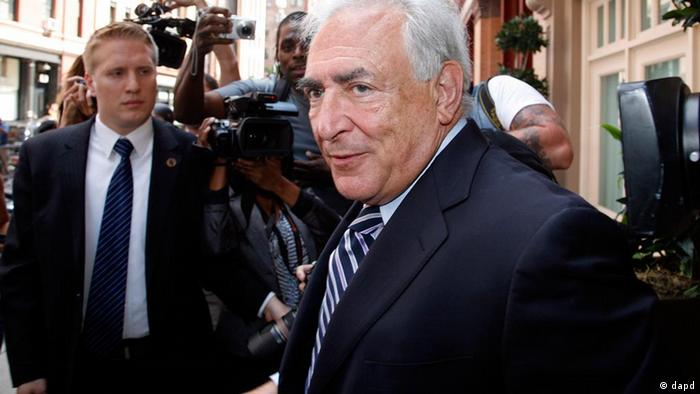Dominique Strauss-Kahn Archivbild aus New York 2011