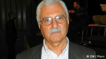 Der syrische Oppositonelle George Sabra bei einer Podiumsdiskussion in Berlin am 23.3.2012. Foto: DW