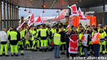 اعتصاب کارکنان فرودگاه هانوفر