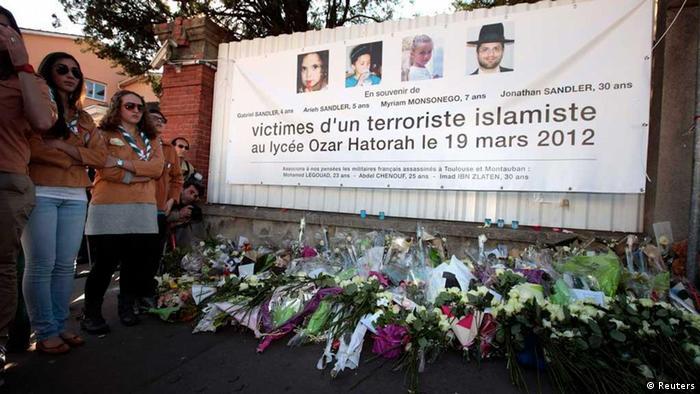 Schweigemarsch Toulouse (Reuters)