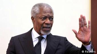 Kofi Annan, joint special envoy for the United Nations and the Arab League