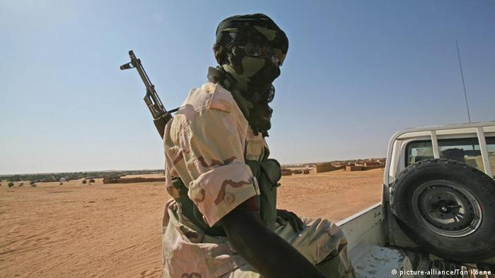 Chadian gendarmerie in Chad