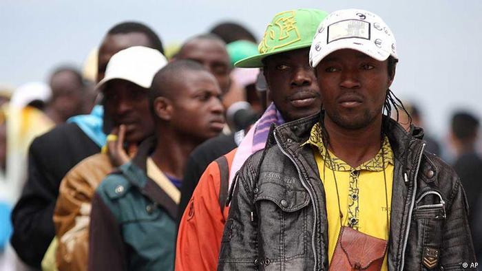 African migrants (photo: AP Photo/Lapresse) Für Projekt Destination Europe Mangelnde Perspektiven und große Träume