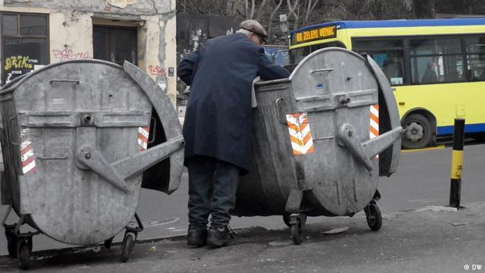 Serbien Armut Europa Symbolbild Altersarmut