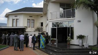 The Genocide Memorial Center in Kigali . Photo von Marie-Ange Pioerron, DW, September 2010