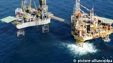 Leck an Plattform in der Nordsee - Gas strömt weiter Ausschnitt