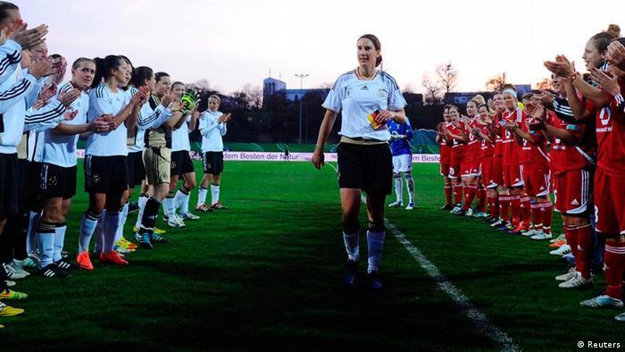 Birgit Prinz Abschiedsspiel (Reuters)