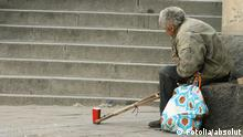 A homeless disabled man (Photo: absolut #2858786 fotolia)
