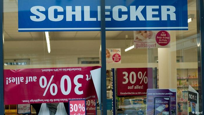 Обанкротившаяся компания Schlecker