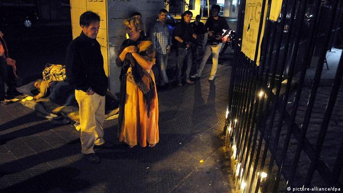 Chile gefolterter Homosexueller Daniel Zamudio stirbt in Santiago de Chile Krankenhaus