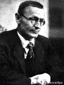Hermann Hesse at the age of 50