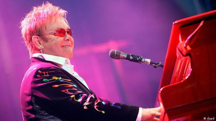 Großbritannien Musik Sir Elton John