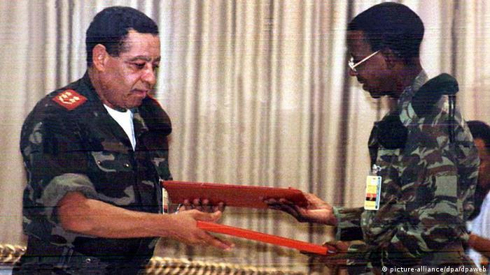 Angola Friedensvertrag 2002