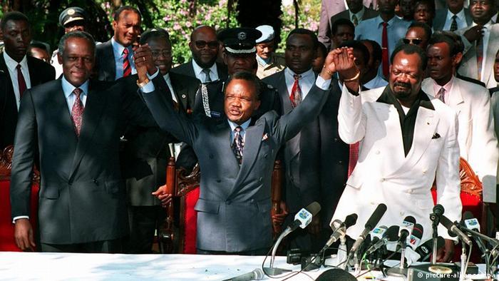Friedensvertrag von Lusaka in Sambia