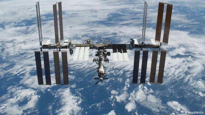 A photo of the ISS in orbit. (Photo: NASA/dapd)