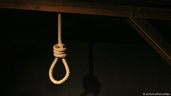 Symbolbild Todesstrafe Galgen
