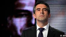 Bulgarien Wahlen Rossen Plewneliew in Sofia