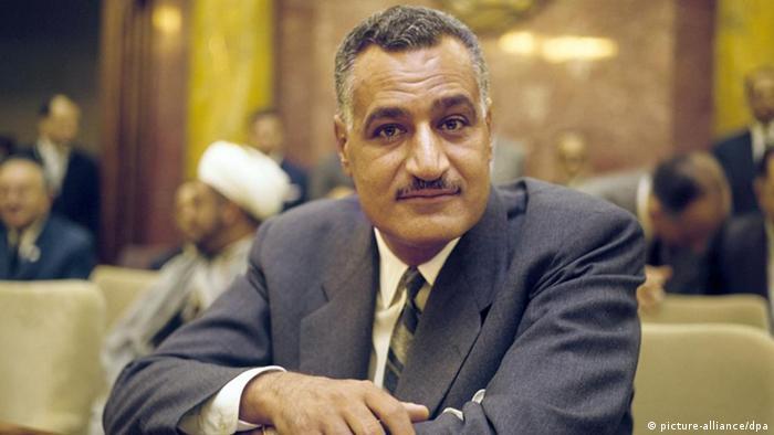 Ägypten ehemaliger Staatspräsident Gamal Abdel Nasser (picture-alliance/dpa)