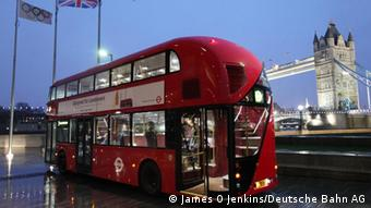 Busse in London in DB-Besitz Copyright: Deutsche Bahn AG