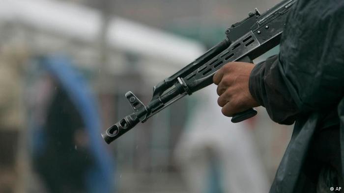 Afghanistan Kabul Waffe