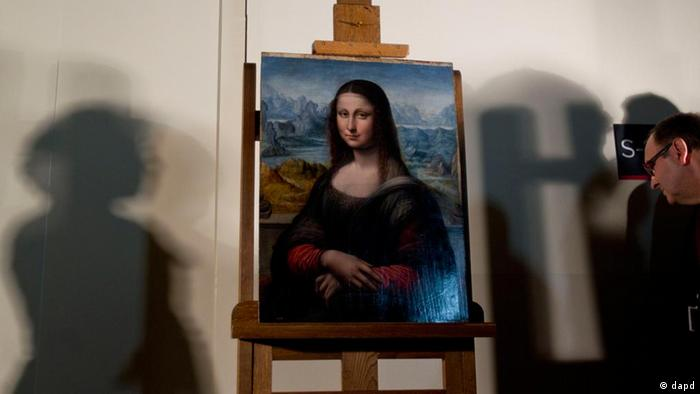 Mona Lisa copy in Madrid's Prado (dapd)