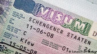 Visa for Schengen countries