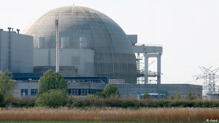 Nuclear reactor site Unterweser