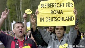 Синти и рома протестуют против депортаций из Германии