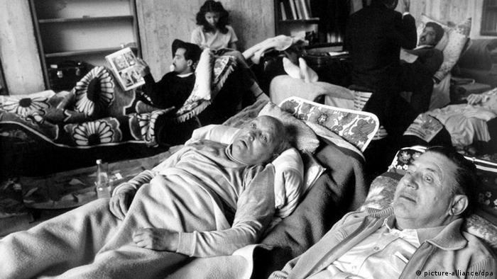 Sinti und Roma Hungerstreik (picture-alliance/dpa)
