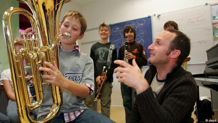 Nastava muzike u njemačkoj školi