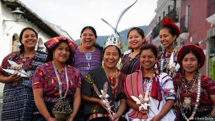 Grupo de mujeres guatemaltecas del proyecto de Cibely Dohle. (Foto: Cibely Dohle).