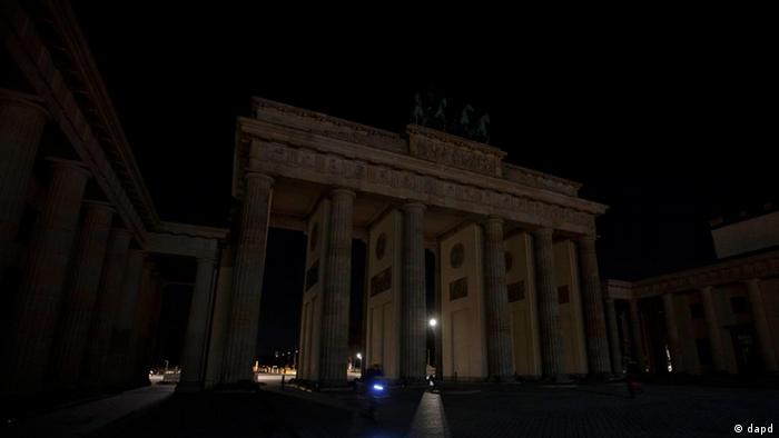 Earth Hour in Berlin 2012