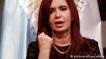 Cristina Fernandez de Kichner Präsidentin Chile