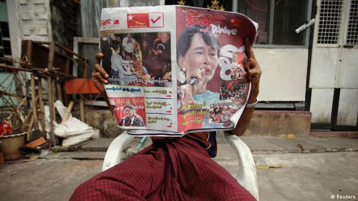 Nachwahlen in Birma 2012