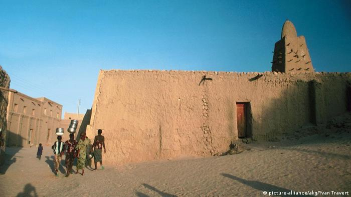A building in Timbuktu