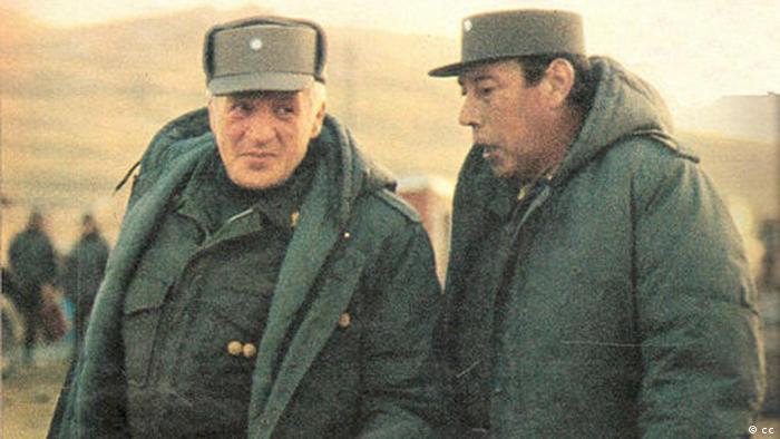 Leopoldo Galitieri und Mario Menéndez